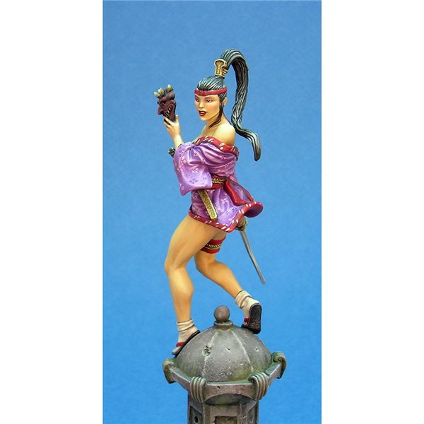 Kabuki Miniature Shinomi 54MM Model Kit
