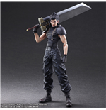 Ffvii Crisis Core Zack P.A.K. Action Figure