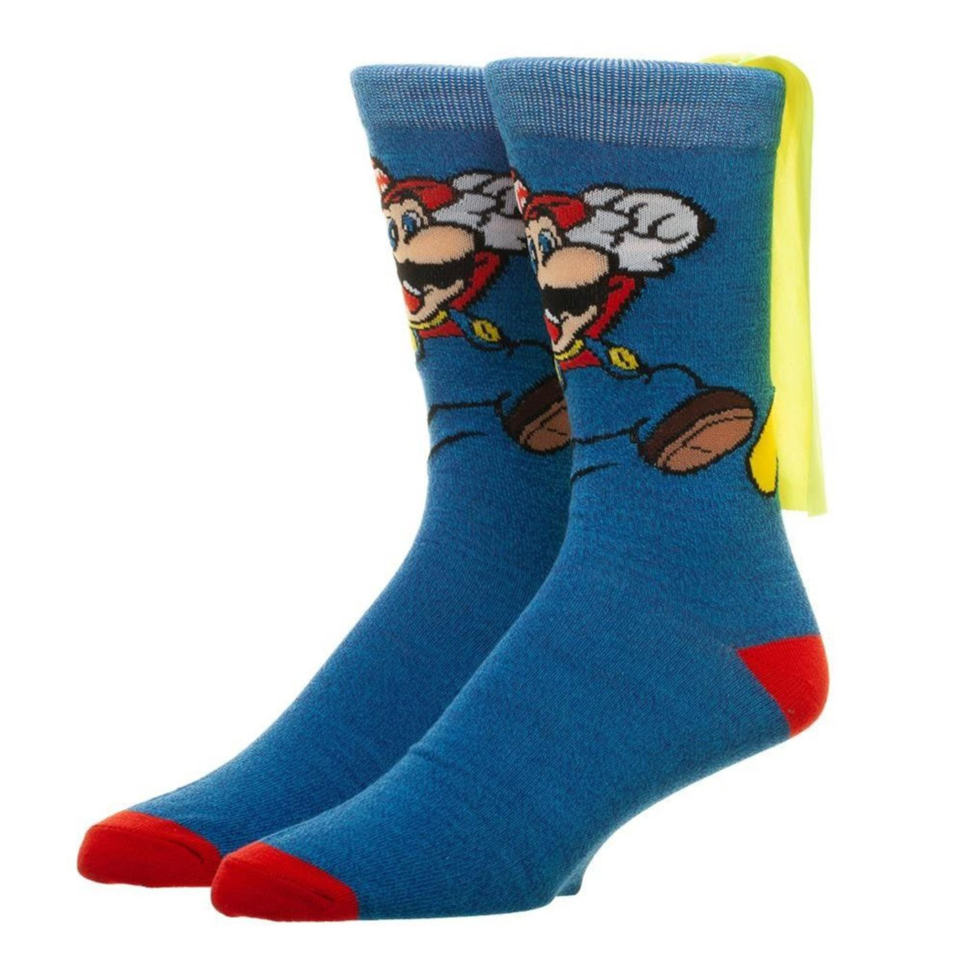 Nintendo Super Mario Brothers Caped Socks