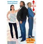 Bud Spencer & Terence Hill 1:1 Cutout Lifesize Silhouette