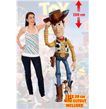 Toy Story 4 Woody Lifesize Cutout Lifesize Silhouette