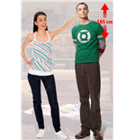 The Big Bang Theory Sheldon Cutout Lifesize Silhouette