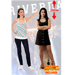Riverdale Veronica Lodge Lifesize Cutout Lifesize Silhouette