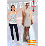 Riverdale Betty Cooper Lifesize Cutout Lifesize Silhouette