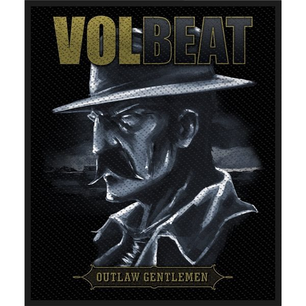 Volbeat Patch Outlaw Gentlemen (PACKAGED)