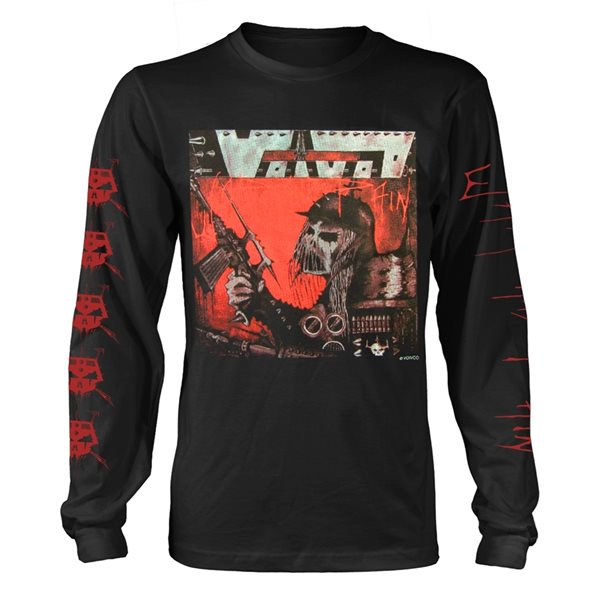 Voivod Long Sleeves T-Shirt War & Pain