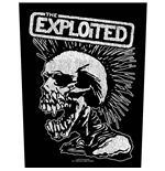 The Exploited Patch Vintage Skull (BACKPATCH)