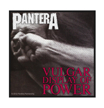 Pantera Patch Vulgar Display Of Power (PACKAGED)