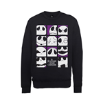 The Nightmare Before Christmas Sweatshirt Many Faces Of Jack Squares