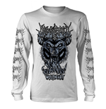 Moonspell Long Sleeves T-Shirt Wolfheart (WHITE)