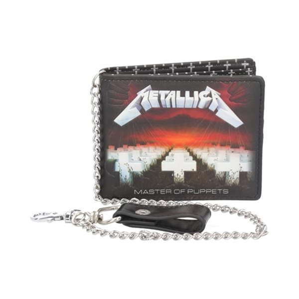 Metallica Wallet With Chain Master Of Puppets (WALLET)