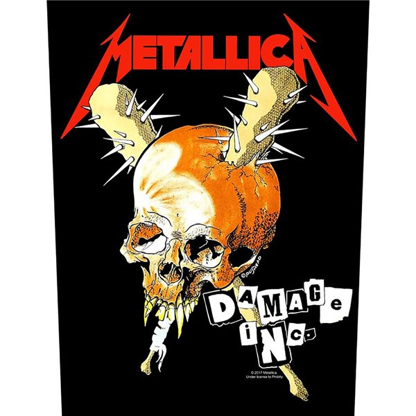 Metallica Patch Damage INC. (BACKPATCH)