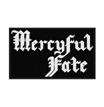 Mercyful Fate Patch Logo (PACKAGED)