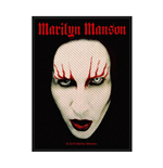 Marilyn Manson Patch Face