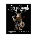 Korpiklaani Patch Happy Little BOOZER'S