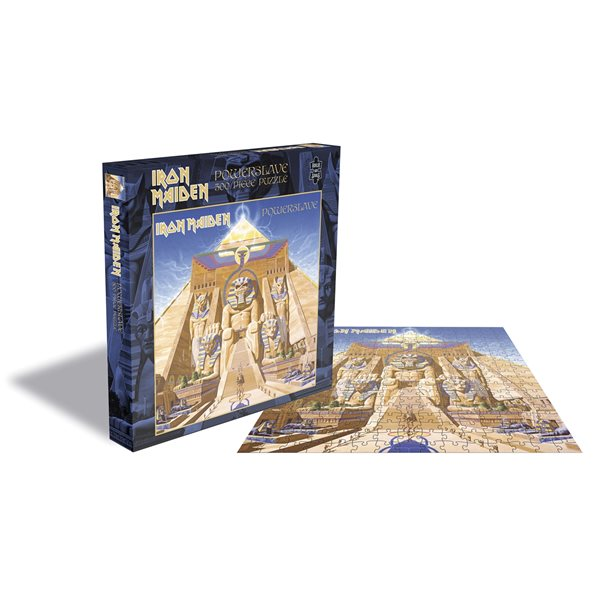 Iron Maiden Puzzle Powerslave (500 Piece Jigsaw PUZZLE)
