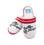 Harley Quinn Slippers DADDY'S Little Monster (ladies Large - Uk Size 5-7)