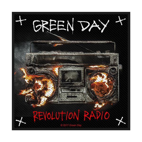 Green Day Patch Revolution Radio