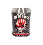 Five Finger Death Punch Shot Glass ( Stainless Steel & Resin ) 5fdp Shot Glass