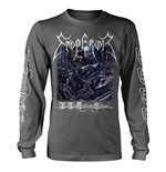 Emperor Long Sleeves T-Shirt In The Nightside Eclipse (CHARCOAL)