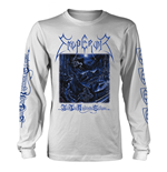 Emperor Long Sleeves T-Shirt In The Nightside Eclipse (WHITE)