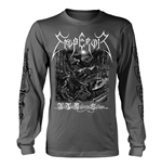 Emperor Long Sleeves T-Shirt In The Nightside Eclipse (black And WHITE)