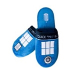 Doctor Who Slippers Tardis (uk Size 8-10)