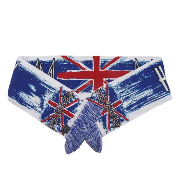 Def Leppard Scarf Union Jacks
