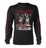 Cannibal Corpse Long Sleeves T-Shirt Butchered At Birth (EXPLICIT)