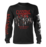 Cannibal Corpse Long Sleeves T-Shirt Butchered At Birth Baby