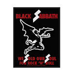 Black Sabbath Patch Sold Our Souls (PACKAGED)