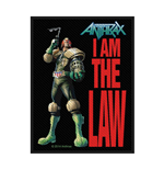 Anthrax Patch I Am The Law