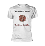 New Model Army T-Shirt Thunder And Consolation (WHITE)