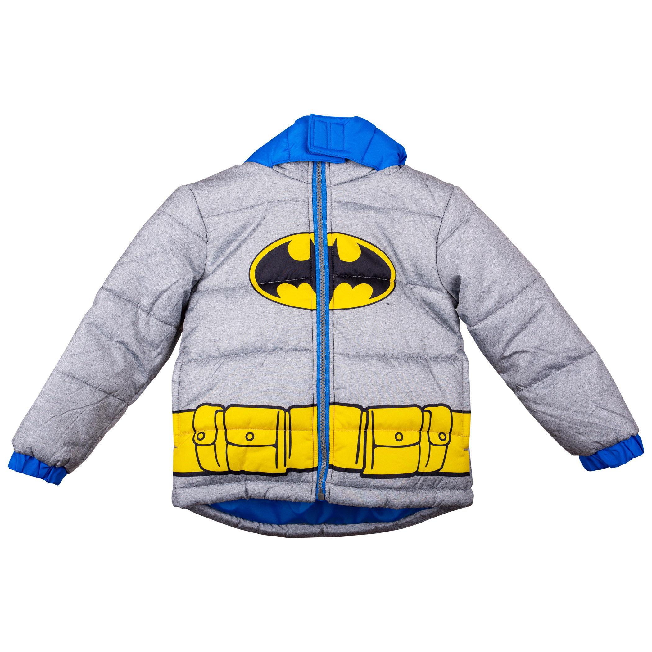 Batman Costume Large Kids Coat