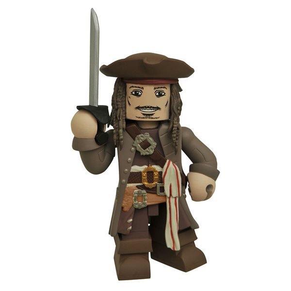 Potc Dead Men Tnt Jack Sparrow Vinimate Figure