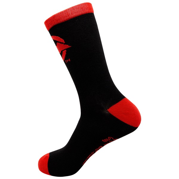 Red Hood Crew Socks