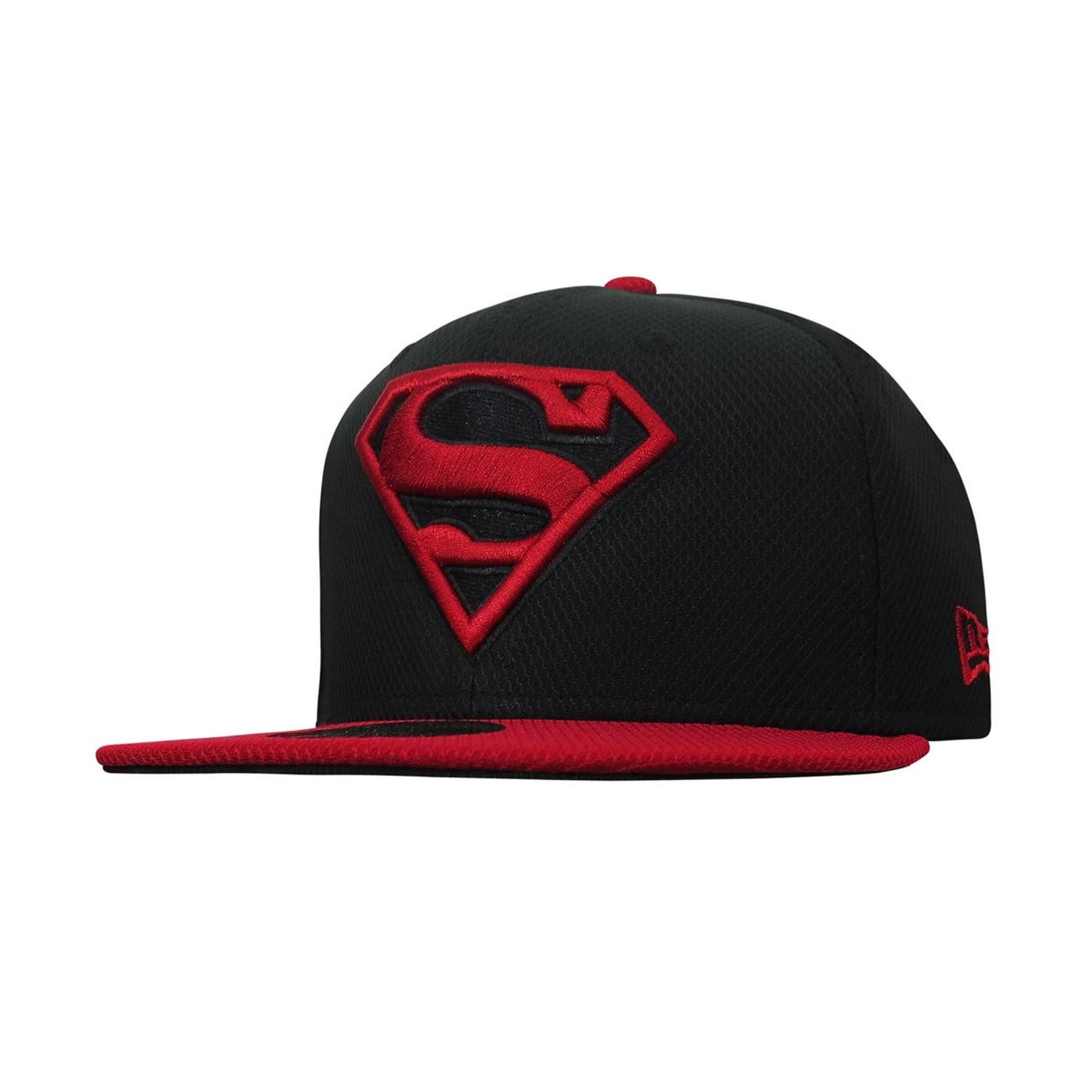Superboy Symbol Red  and  Black 59Fifty Fitted Hat