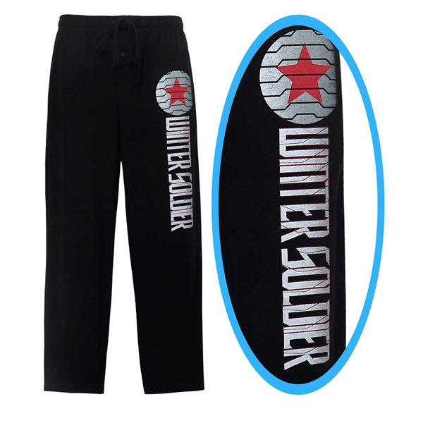 Winter Soldier Mission Report Men's Pajama Pants