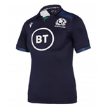 2019-2020 Scotland Macron Home Womens Poly Rugby Shirt
