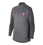 2019-2020 Atletico Madrid Nike Drill Top (Gunsmoke) - Kids