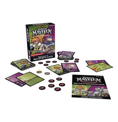 Dungeons & Dragons Card Game Expansion Dungeon Mayhem: Battle for Baldur's Gate english