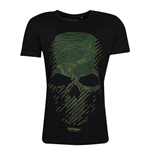 TOM CLANCY'S GHOST RECON Breakpoint Topo Skull T-Shirt, Male, Large, Black