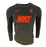 2019-2020 Chelsea Long Sleeve Match Tee (Anthracite)
