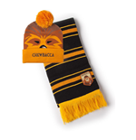STAR WARS Chewbacca Bobble Beanie & Scarf Gift Set, Unisex, Multi-colour (GS210374STW)