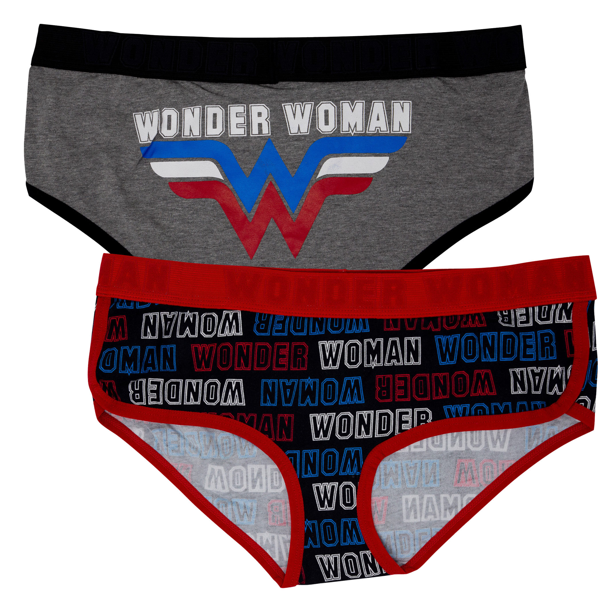 Wonder Woman 2-Pack Women's Underwear