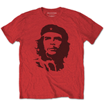 Che Guevara Unisex Tee: Black on Red