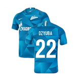 2019-2020 Zenit Home Shirt (Dzyuba 22)