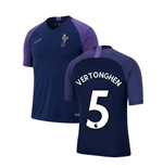 2019-2020 Tottenham Nike Training Shirt (Navy) (VERTONGHEN 5)