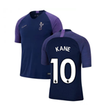 2019-2020 Tottenham Nike Training Shirt (Navy) (KANE 10)