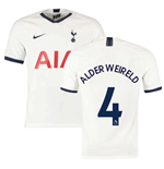2019-2020 Tottenham Home Nike Football Shirt (ALDERWEIRELD 4)